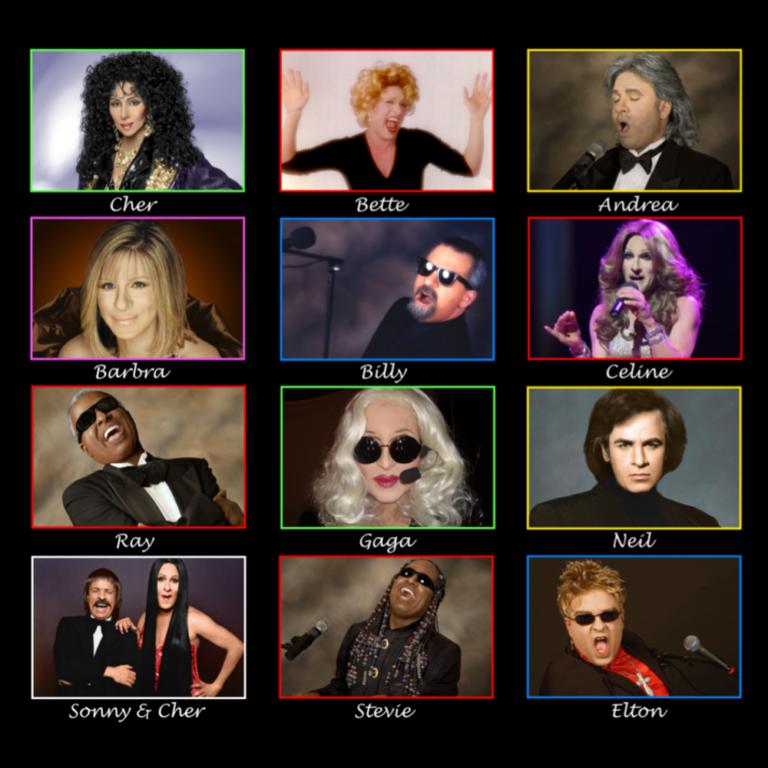 An Evening with Cher, Billy Joel, Bette Midler & Streisand